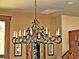 Traditional ElectricChandelier by ou8nrtist2