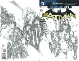 Girls of Gotham Commission by Ace-Continuado