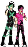 Toxic and Elliot by Emo-Boy-Love