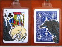 Playing Card Badge: Anvil by FlannMoriath