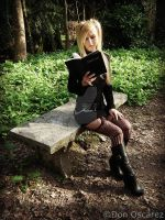 Misa Amane (read) by muscolo