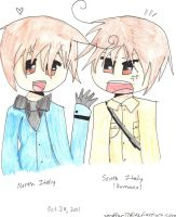 South Italy and North Italy by Sandfur17