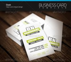 Sleek Business Card by artnook