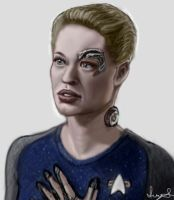 Seven of Nine 2 by Vaati-Raptor