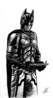 The Dark Knight Rises Batman by SWArtwork