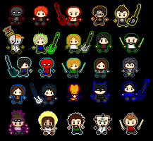 My Evil icon ARMY by CR4ZY-CHR1S