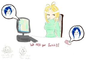 We miss you Sarah by Gothic-Enchantress