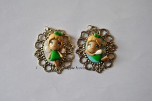Cammei-Charm-Ciondoli Fimo 'Trilly' by AppleIcewizard