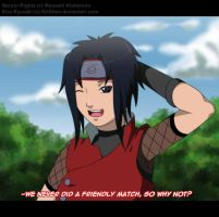 :Naruto OC: Friendly match by KirCorn