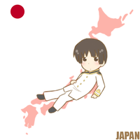 :APH: In the Map - Japan by s-a-n-d-y