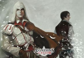 assassin's creed ezio by aprilis420