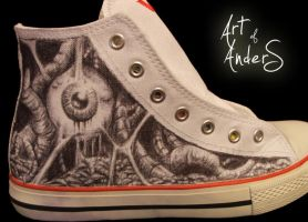 First Shoeart by Anderstattoo