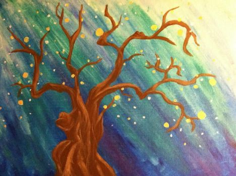 Tree Painting by AestheticEngineer