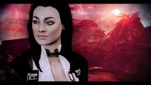 Mass Effect 2 Miranda 3 by AgataFoxxx