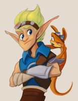 Jak and Daxter by MowenDesigns