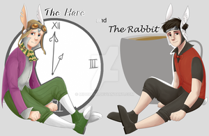 The Rabbit And The Hare by Midoromi