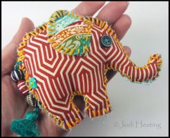 Tribal African Elephant by andromeda