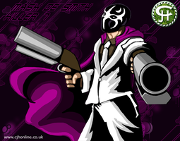 Mask De Smith of Killer 7 by cjhonline