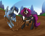 Mud Couple by Aminentus