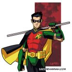Tim Drake Rebirth by stratosmacca