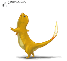 4 Charmander by PokePsych