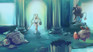 The Water Ruins - RF4 by Lubrian