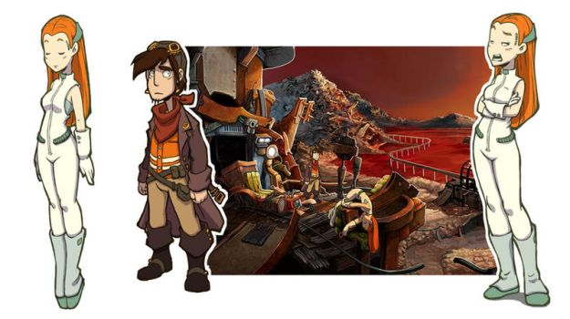 deponia character design by DawnElaineDarkwood