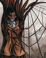 Surreal Watchmen: Rorschach by ikka-nosferatu