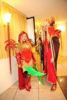 valeera sanguinar and kael'thas cosplay wow by ValeeraHime