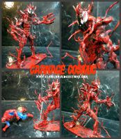 CUSTOM CARNAGE COSMIC FIGURE by symbiote-x