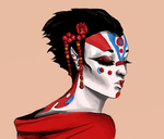 Character sketch (geisha) by Nicki96