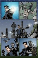 Dracula Inc. page 3 color by herrenmedia