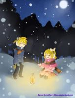 Snow [Rin and Len Fanclub Winter Contest Entry] by KaoruAmethyst-Chan