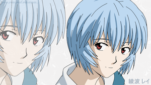 Ayanami Rei vector by Dudess999