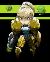 2906 Chiby Samus Aran Metroid by Spoon02