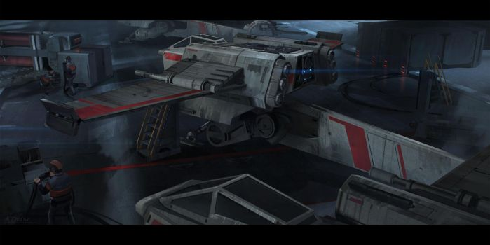 ILM Challenge The Ride T-34 WingFighter by AleksD9