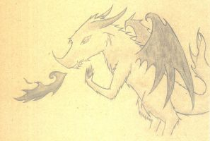 dragon-frost and flame by that-firey-cat
