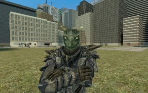 Archer the Argonian Dragonborn - GMOD by HelloMyNameIsEd