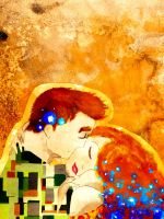 The Kiss by Number-14