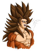 Goku SSJ5 - my version concept by FanDragonBall