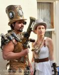 steampunk goldll by overlord-costume-art
