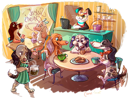 Sweet Onion's Cafe by Colonels-Corner