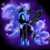 Nightmare Moon by Kitzophrenic