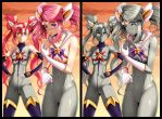 Stone Guardians Jinx and Lux by L-exander909