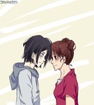 Neji and Tenten by soulhates