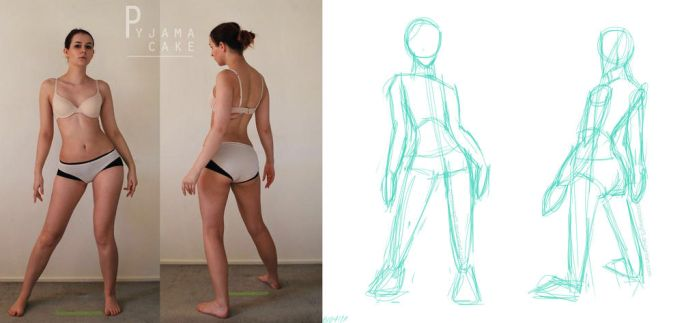 Gesture Drawing *Redraw* by PizzaSwag15