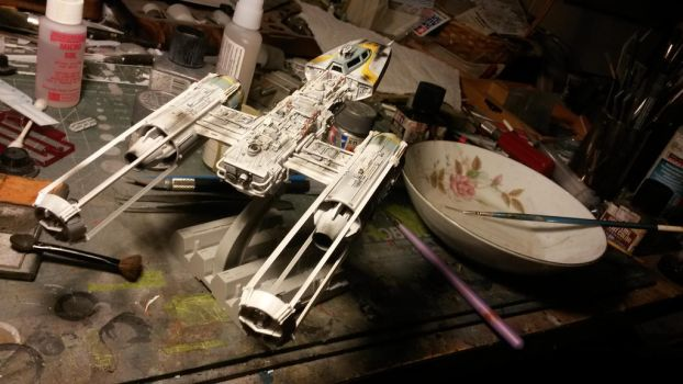 1/72 scale Y-wing by THE-WHITE-TIGER