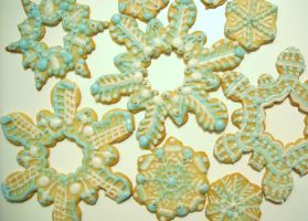 Snowflake Cookies by Ballerinatwin3