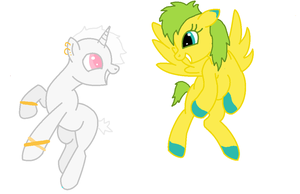 pony adoptable auction OPEN by Pennys-Adoptables