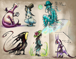 The book of Monsters - December 20, 2012 by JohannesVIII